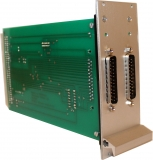 Bausatz:Isel UI5c/UI4c Adapterkarte mit Takt- u. Richtungssignalen für C142, C242, C116 mit Frontplatte