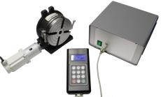 Komplettsett elektronischer Rundteiltisch RT150CNC mit Steuerung RotaryControl