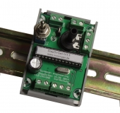 Impuls / Step generator with  step- and dir signals for DIN-rail