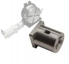 Schrittmotor Adapterflansch für Rundtische Teilapparat 110mm  150mm HV-4 HV-6 von Vertex