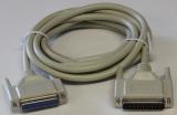 D-Sub Verbindungskabel für LPT Schnittstelle 3m (ST/BU)