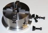 4-Backenfutter / Drehfutter  125 mm passend für RT150mm